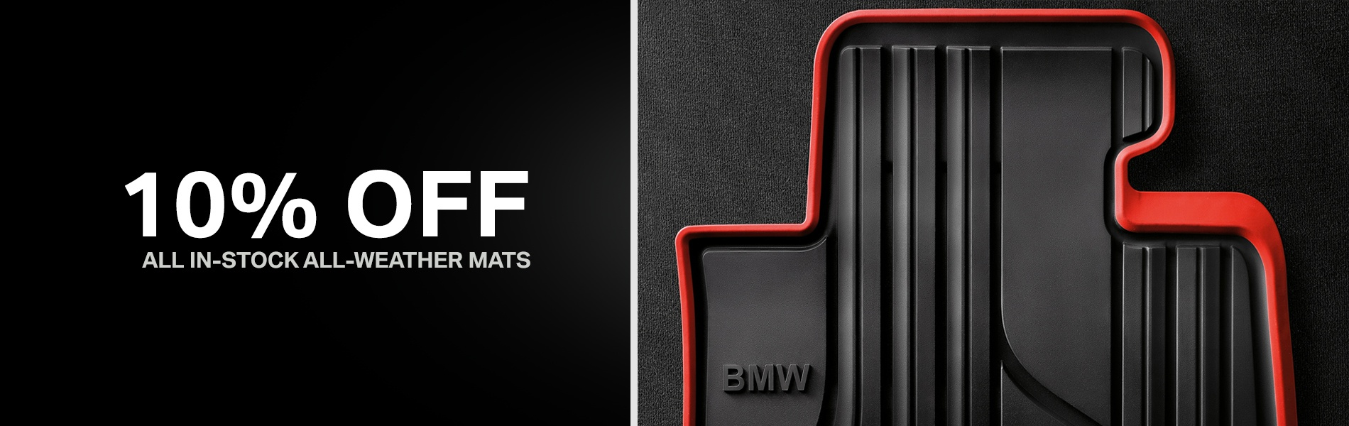 10% Off All-Weather Mats